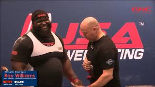 Download Ray Williams, All Nine Lifts, 2017 Raw Nationals Video