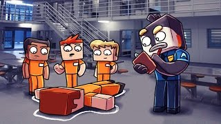 Download Minecraft | Prison Life - LUNCH FIGHT TURNS DEADLY! (Jail Break in Minecraft) #2 Video