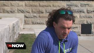 Download Local athlete wants to be a mentor to other amputees Video