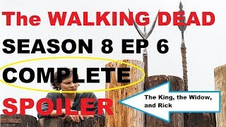 Download The Walking Dead Season 8 - Episode 6 COMPLETE SPOILER - The King, the Widow, and Rick Video