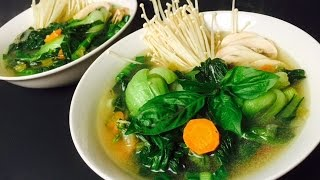 Download HOW TO MAKE CHINESE VEGETABLE SOUP Video