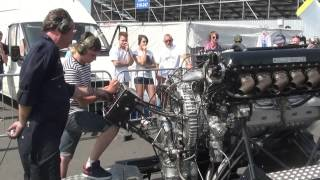 Download Rolls Royce V12 27litre Merlin engine PV12 FULL THROTTLE! Video
