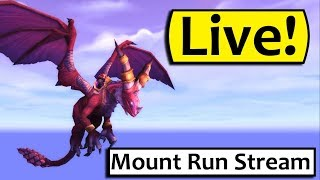Download Mount Runs in the Prepatch! SERVERS ARE UP ON NA Video