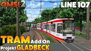 Download OMSI 2 Let's Play #41 | TRAM Addon - Straßenbahnen NF6D | Projekt Gladbeck: Line 107 Video