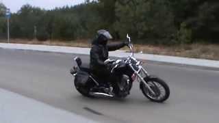 Download Suzuki intruder 1400 slow ride test Video