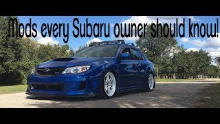 Download The top 5 MODS you NEED to do to your Subaru!!! Video
