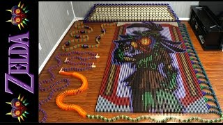 Download The Legend of Zelda Majora's Mask (In 67,507 Dominoes!) Video