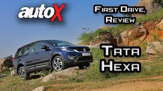 Download Tata Hexa Review   First Drive   autoX Video