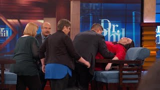 Download Woman Experiences PTSD Episode While Speaking With Dr. Phil Video