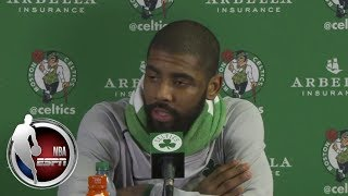 Download [FULL] Kyrie Irving and Brad Stevens react to Celtics loss to Cavaliers | ESPN Video