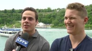 Download Auston Matthews & Matthew Tkachuk - June 23, 2016 Video