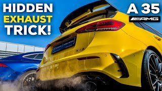 Download 2019 MERCEDES-AMG A35 EXHAUST TRICK! COLD START LOUD SOUND! Video