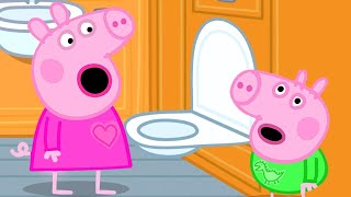 Download Peppa Pig Official Channel | Peppa Pig's First Long Train Journey Experience Video