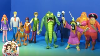 Download Scooby Doo Friends and Foes 10 Action Figure Play Set Collection Review and Unboxing Video
