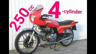 Download The Best of 250cc 4-cylinder Motorcycles ! Video