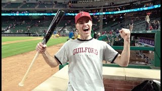 Download Getting a signed bat from Mike Trout at Globe Life Park! Video