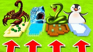 Download Minecraft PE : DO NOT CHOOSE THE WRONG FARM! (Scorpion, Shark, Anaconda & Penguin) Video