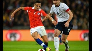 Download England vs Chile 0-2, official goals and highlights Video