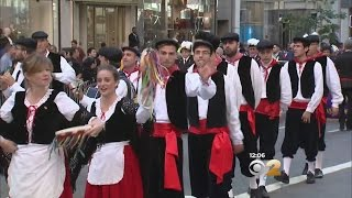 Download Columbus Day Parade On Fifth Ave. Video