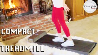 Download New Walking Pad Treadmill Review | New Treadmill Style Compact & Easy to Store Video