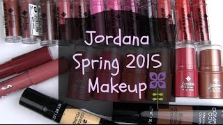 Download Jordana New Spring 2015 Makeup: Live Swatches & Review Video