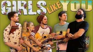 Download Girls Like You - Walk off the Earth (Maroon 5 Cover) Video