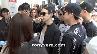 Download BTS Bangtan Boys lands in the usa for the first time and show love to fans at LAX Video