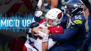 Download Frank Clark Mic'd Up vs. Cardinals ″I eat blood″ | NFL Films Video