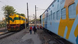 Download Indian Railways new color scheme for old Railway coaches Video