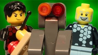 Download Team A vs Team B: Robot War (LEGO Animation) Video