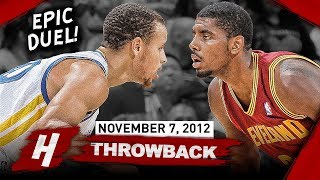 Download The Game Stephen Curry Met Kyrie Irving for the FIRST TIME EVER 2012.11.07 - EPIC PG Duel! Video