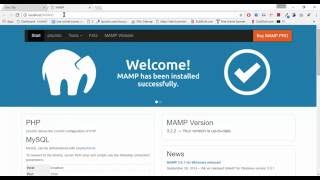 Download Install MAMP on Windows Video