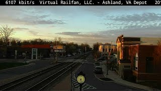 Download Ashland, Virginia USA - Virtual Railfan LIVE Video