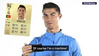 Download Cristiano Ronaldo reagiert auf FIFA 18 Werte! Video