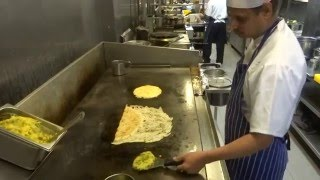 Download Indian Street Food: Onion Rava Masala Dosa & Pizza Utthappam at Sangeetha Restaurant Hounslow London Video