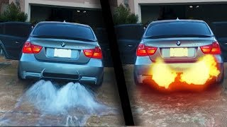 Download Exhausts throwing WATER, FLAMES and FOAM ! ( Epic ) Video