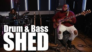 Download Crazy Drum & Bass Shed - Kenneth ″Kaybass″ Diggs and Fred Boswell Jr. Video