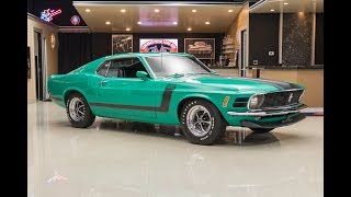 Download 1970 Ford BOSS 302 Mustang For Sale Video