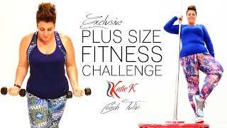 Download Plus Size Fitness Challenge - Katie K Active and Coach Tulin Video