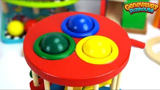 Download Best Color Learning Videos for Toddlers - Preschool Educational Pop Up Toys and Ball Pounding Tables Video