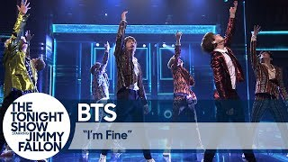Download BTS Performs ″I'm Fine″ on The Tonight Show Video