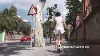 Download Riding with FASTWHEEL EVA Self Balancing electric unicycle or electric wheel Video