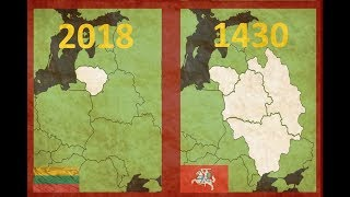 Download The Countries of EUROPE at Their GREATEST extent Video