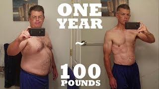 Download 1 Year 100 lb Weight Loss - Mind & Body Transformation Video