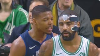 Download Kyrie Irving SHUTS UP TRASH TALKING ROOKIE FOR TAUNTING HIM WITH CROSSOVER!!! Video