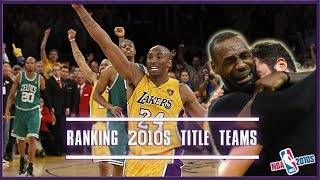 Download Ranking NBA Championship Teams From The 2010s (NBA 2010s) Video