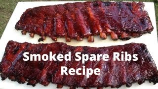 Download Spare Ribs Recipe - How To Smoke Spare Ribs Video