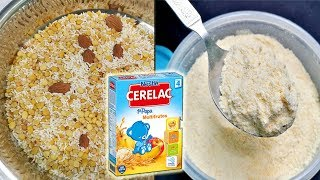 Download No need to buy Cerelac anymore || Homemade Cerelac for 6 -12 Months babies - Healthy baby Food Video