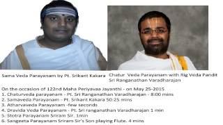 Download 5.[High Quality]SamaVedaParayanam Pt. Sreekant Kakara Video