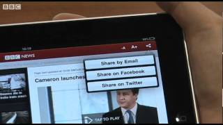Download BBC News App demo featuring David Madden Video